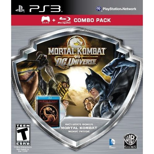 Mortal Kombat vs. DC Universe + Movie (Combo Pack)