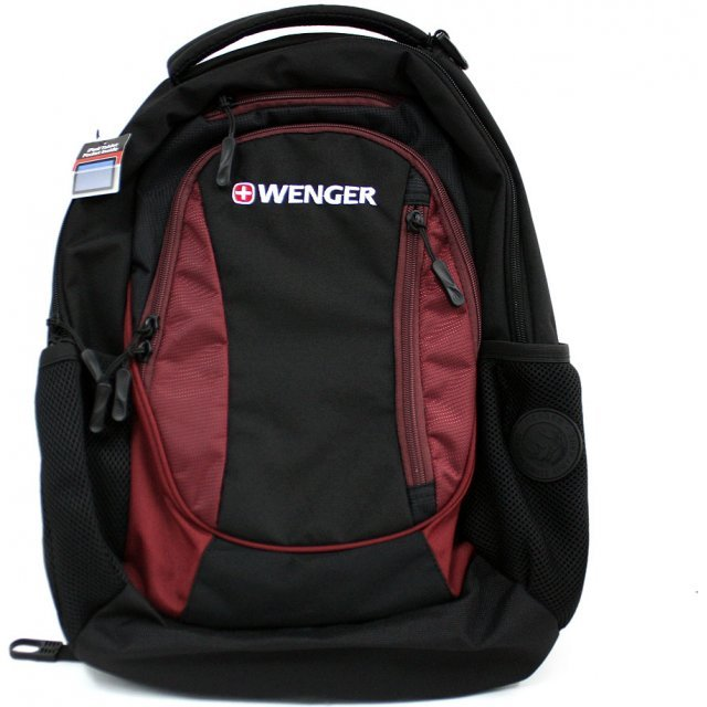 Wenger Business Backpack - Centre (Red)