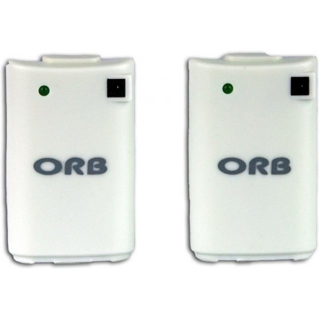 ORB Dual Charge and Play Battery Pack (White)