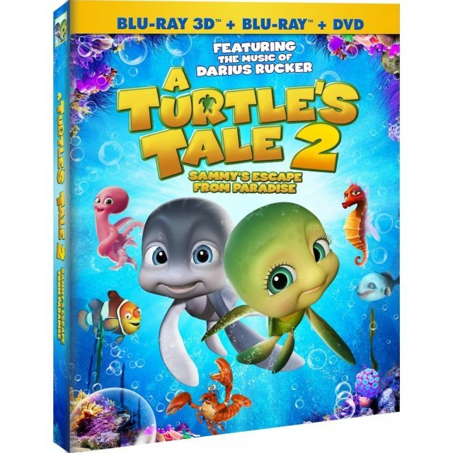 A Turtle's Tale 2: Sammy's Escape From Paradise 3D