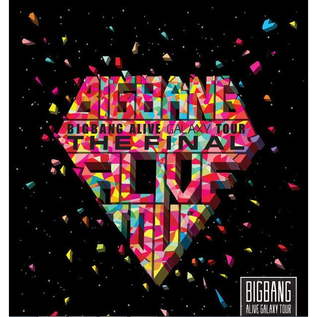 2013 Big Bang Alive Galaxy Tour Live The Final in Seoul [2CD]