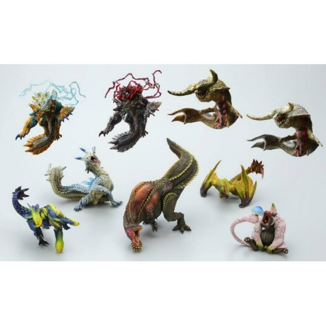 Monster Hunter Anger Figure Builder Non Scale Pre-Painted PVC Trading Figure: Standard Model Ver. 2 (Random Single)