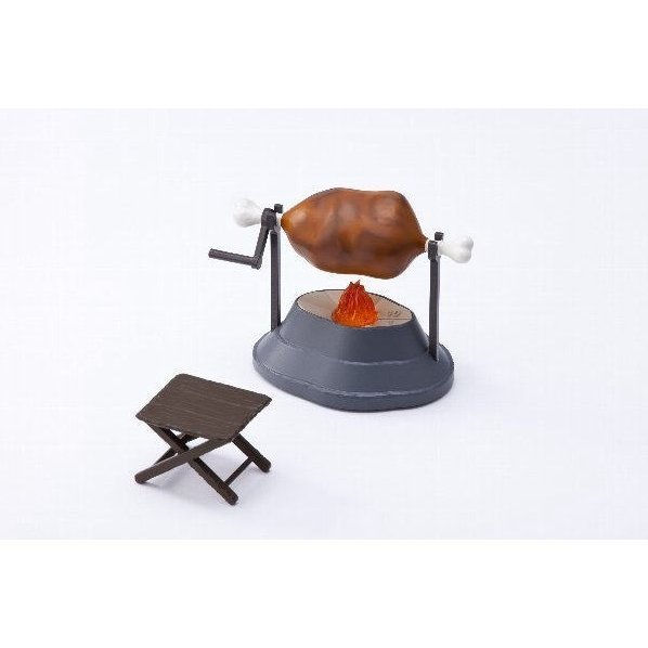 Cafe Reo Monster Hunter Electroys Grilled Meat Timer Limited Version with Chair