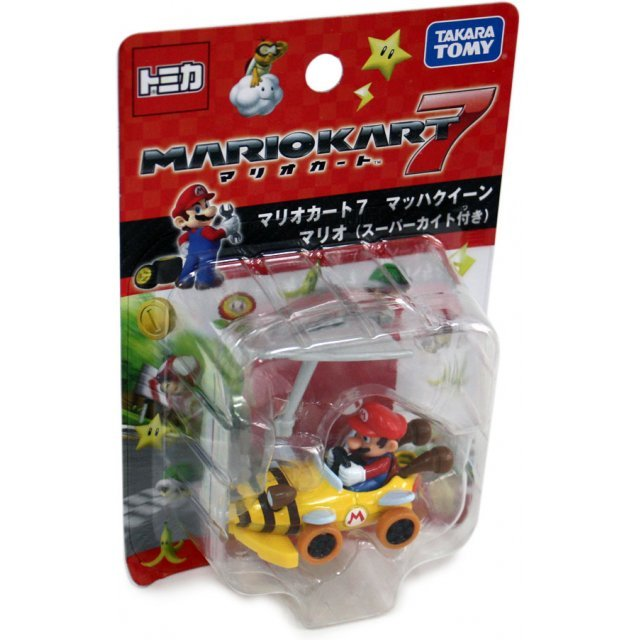 Tomica Mario Cart 7 Mach Queen Mario (w/Super Kite)