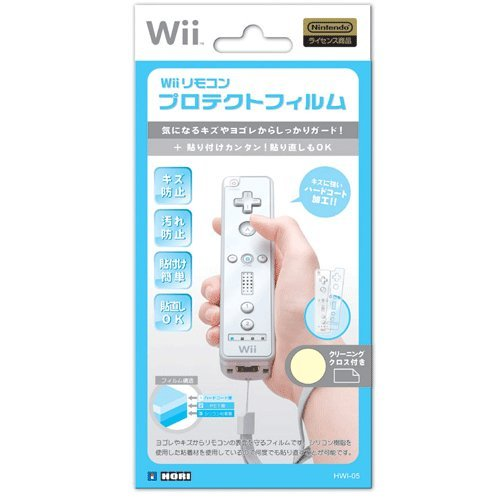 Wii Remote Controller Protect Film