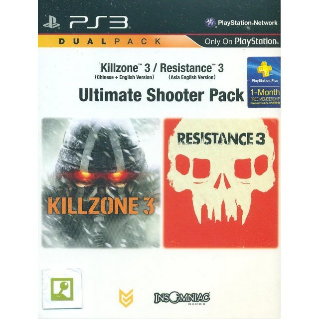 Killzone 3 + Resistance 3 (Ultimate Shooter Pack)