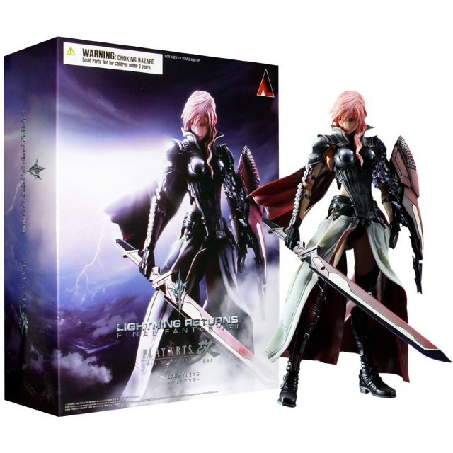 Lightning Returns: Final Fantasy XIII Play Arts Kai Non Scale Pre-Painted Figure: Lightning