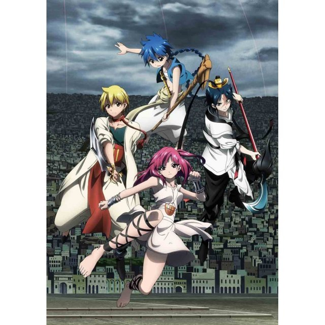 Magi: The Labyrinth Of Magic Vol.9 [DVD+CD Limited Edition]