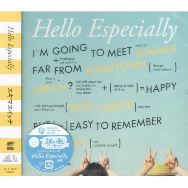 Hello Especially [Blu-spec CD]