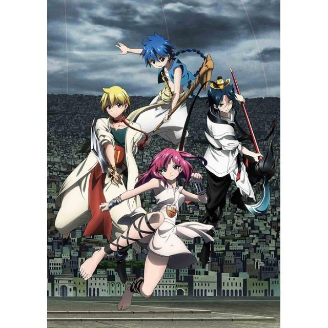 Magi: The Labyrinth Of Magic Vol.9 [Blu-ray+CD Limited Edition]
