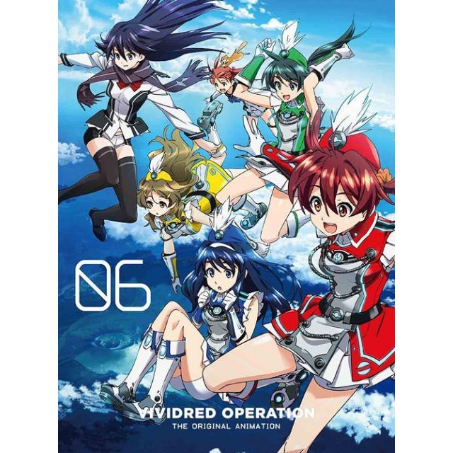 Vividred Operation Vol.6 [Blu-ray+CD Limited Edition]