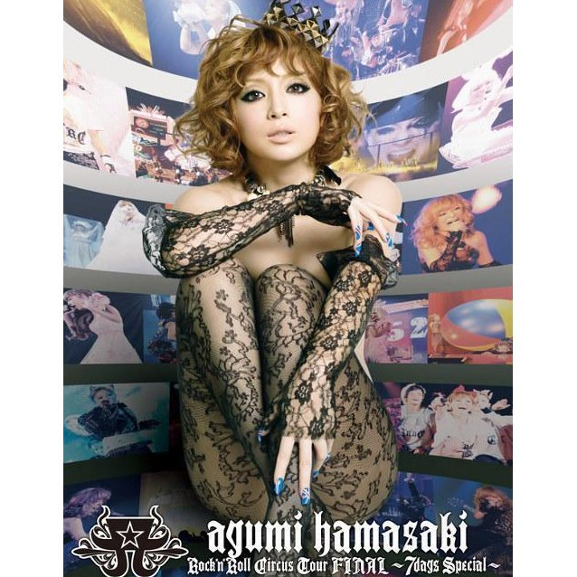 Ayumi  Hamasaki Rock'n'Roll Circus Tour Final ~7Days Special~ [3DVD]