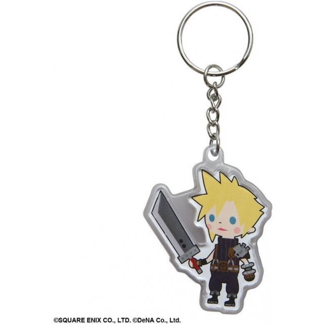 Square Enix Final Fantasy Brigade Break the Seal Clear Key Ring Vol.2: Cloud