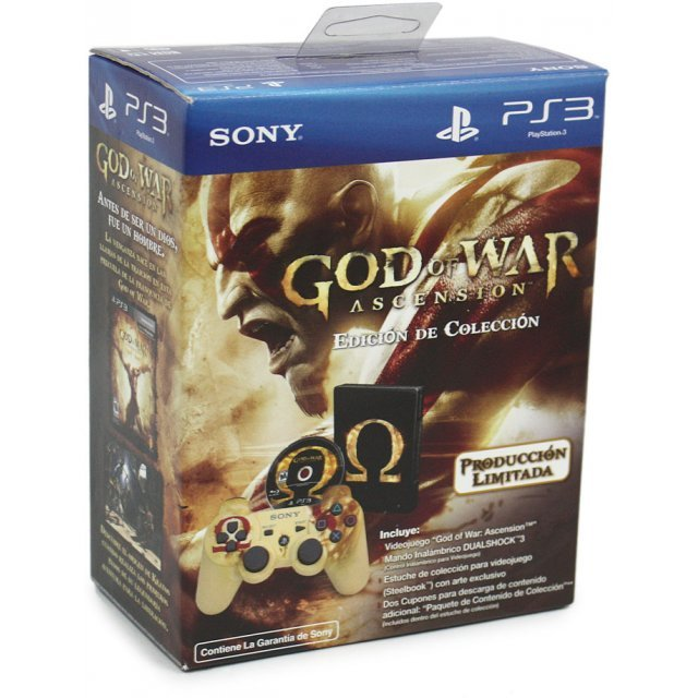 God of War: Ascension (w/ Dual Shock 3 - Limited Edition) [Spanish]