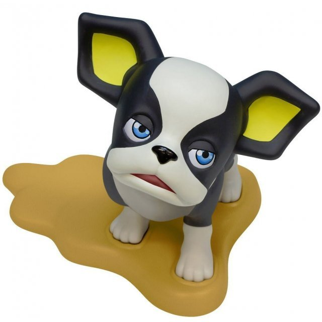 JoJo`s Bizarre Adventure Part.III Non Scale Pre-Painted PVC Figure: Iggy Door Stopper Glare Face ver.
