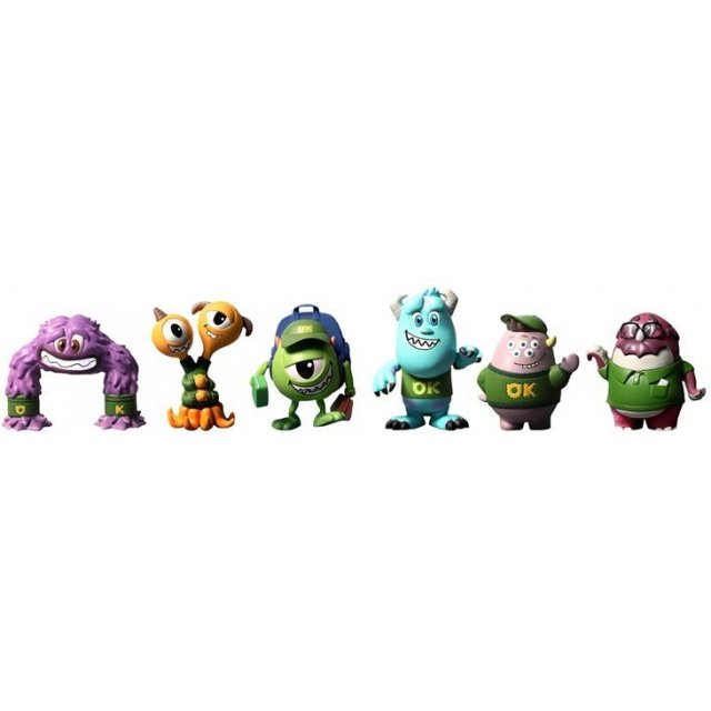 Cosbaby Monsters University Non Scale Pre-Painted Trading Figure [Size S] (Random Single)