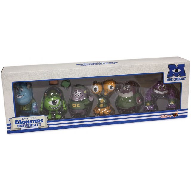 Monsters University Box Set - Cosbaby (6 pieces)