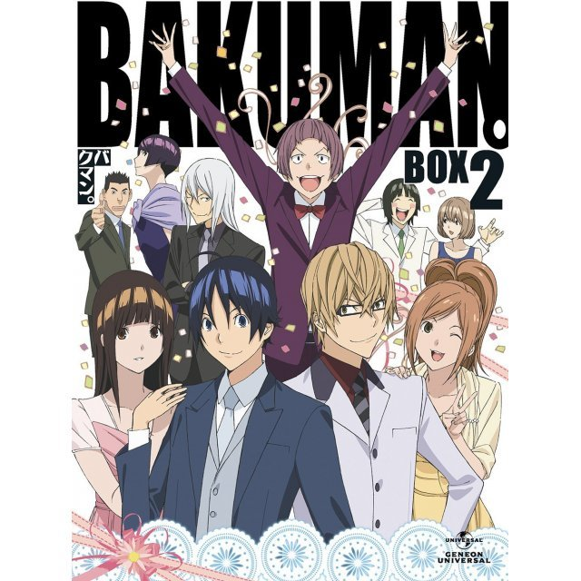 Bakuman 3rd Series Bd Box Vol.2