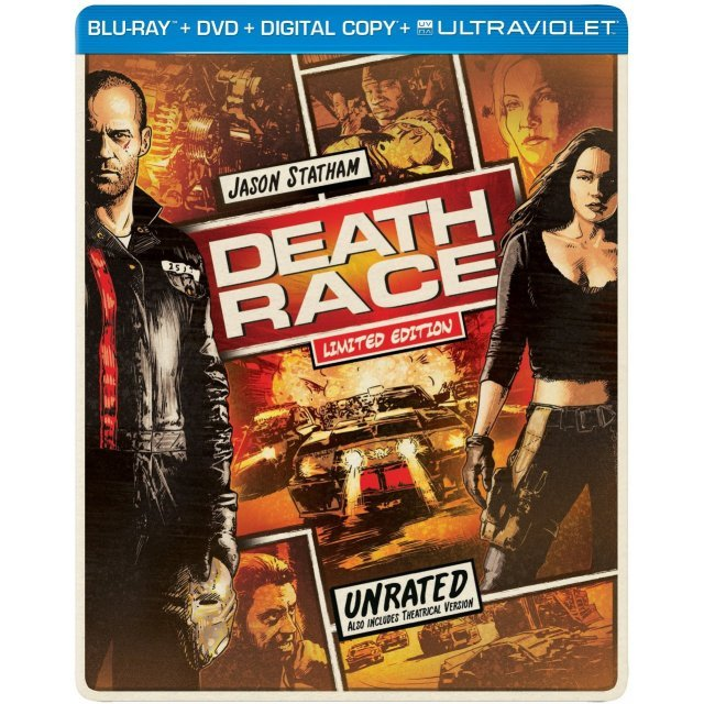 Death Race [Limited Edition SteelBook]