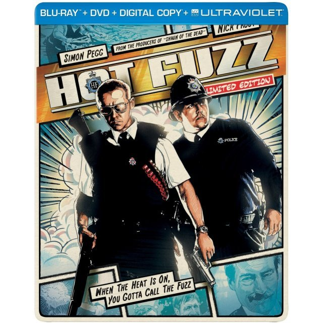 Hot Fuzz [Limited Edition SteelBook]
