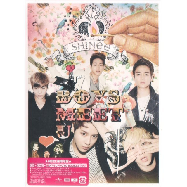 Boys Meet U [CD+DVD+Photobook Limited Edition]