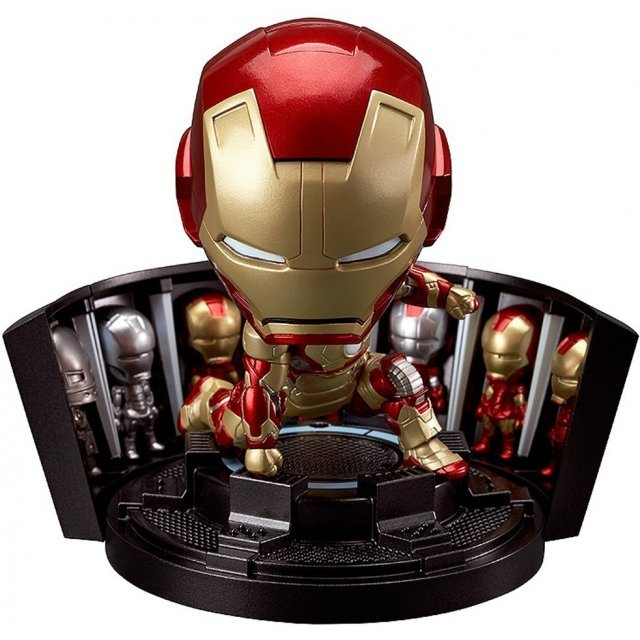 Nendoroid No. 349 Iron Man Mark 42: Hero`s Edition + Hall of Armor Set
