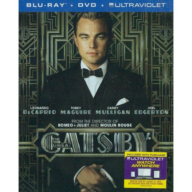 The Great Gatsby [Blu-ray+DVD+UltraViolet]