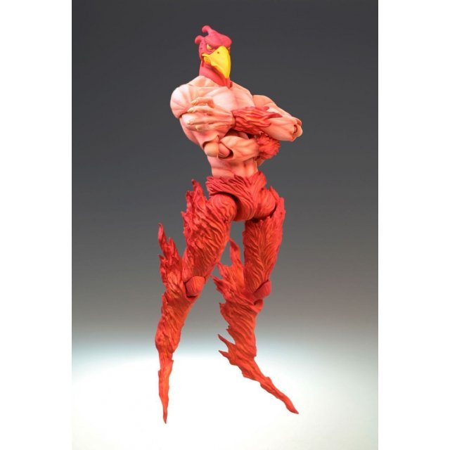 Super Figure JoJo's Bizarre Adventure Part III No.7: Magicians Red (Hirohiko Araki Specify Color) (Re-run)