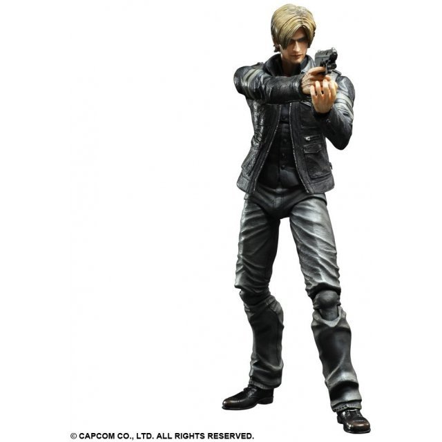 Resident Evil 6 Play Arts Kai Non Scale Pre-Painted PVC Figure: Leon S. Kennedy