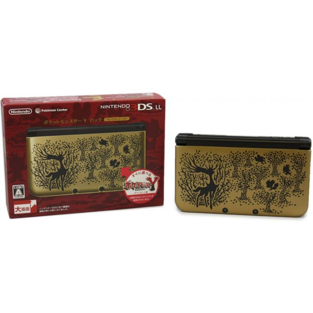 Nintendo 3DS LL [Pokemon Y Pack] (Premium Gold)