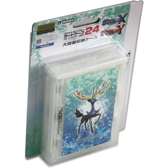 Pokemon Card Case 24 for 3DS (Xerneas)