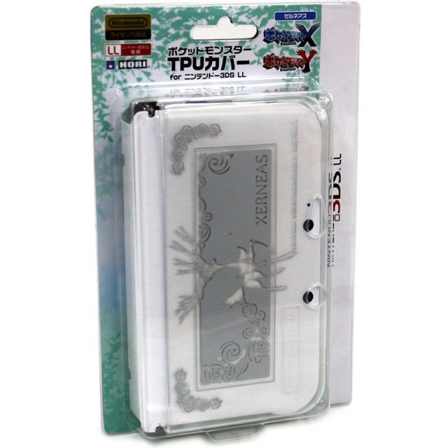 Pokemon TPU Cover for 3DS LL (Xerneas)