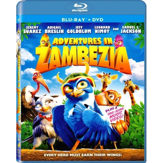 Adventures in Zambezia [Blu-ray+DVD]