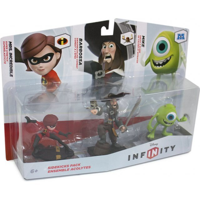 Disney Infinity 3-Pack Figure: Sidekicks