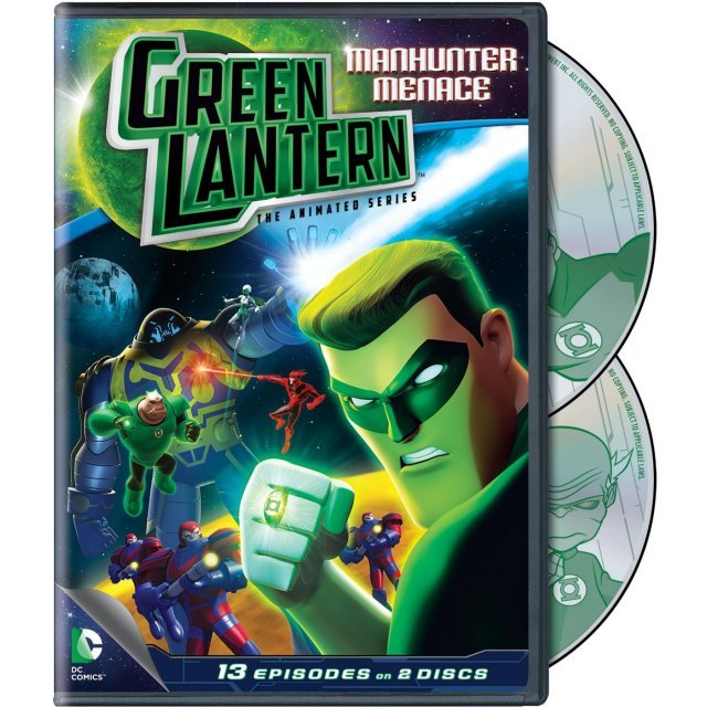 Green Latern The Animated Series: Manhunter Menace
