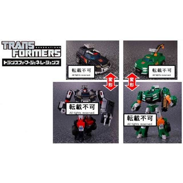 Transformers Generations 27 Action Figure: Trail Breaker & Hoist