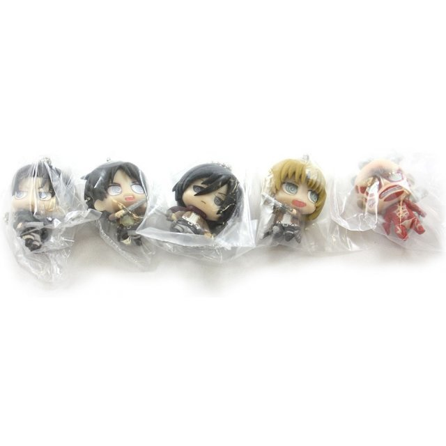 Attack on Titan Chimi Chara Mascot (Set of 5 pieces)