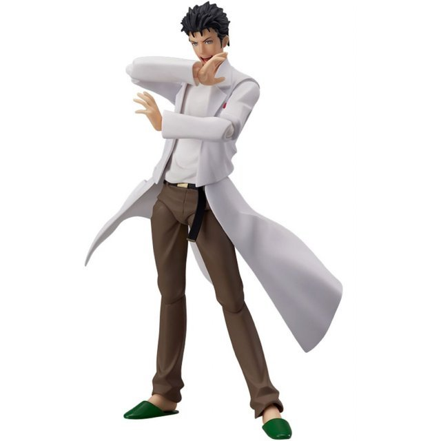 Steins;Gate figma Non Scale Pre-Painted PVC Figure: Okabe Rintaro