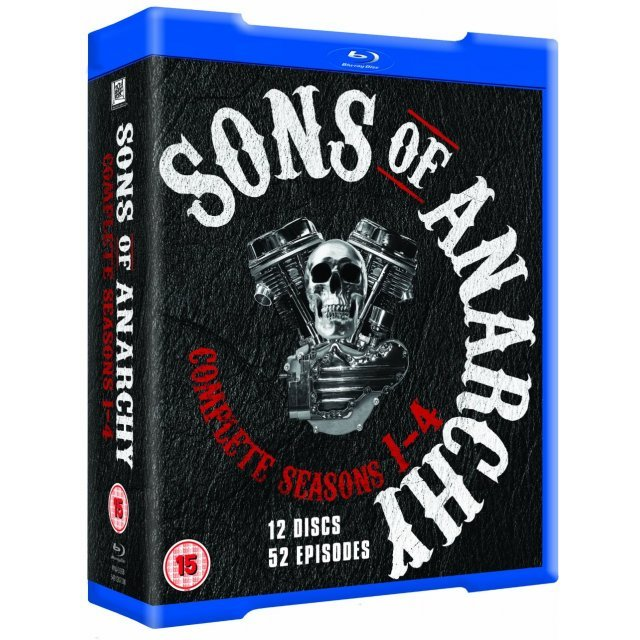 Sons of Anarchy: Seasons 1-4