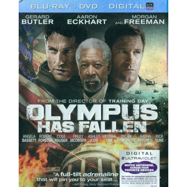 Olympus Has Fallen [Blu-ray+DVD+Digital Copy+UltraViolet]