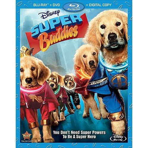 Super Buddies [Blu-ray+DVD+Digital Copy]