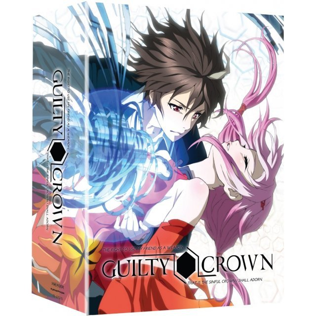 Guilty Crown: Part 1 [Limited Edition/Blu-ray+DVD]