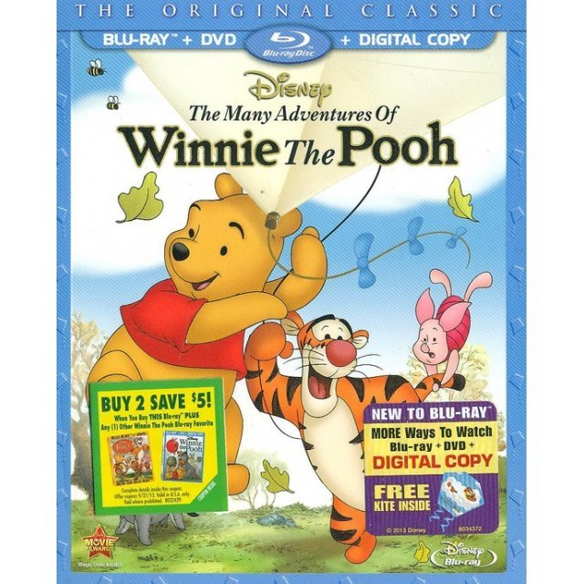 The Many Adventures of Winnie the Pooh [Blu-ray+DVD+Digital Copy]