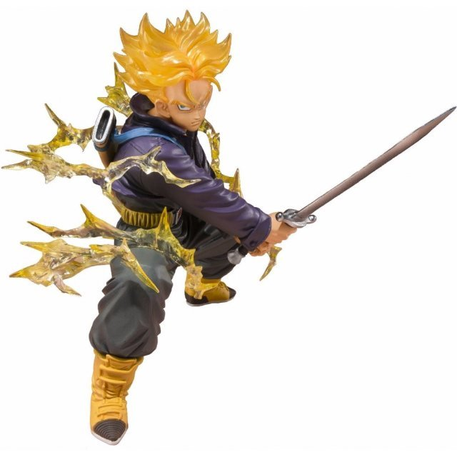 Figuarts Zero Dragonball Z S Non Scale Pre-Painted PVC Figure: Super Saiyan Trunks (Tamashii Web Exclusive)
