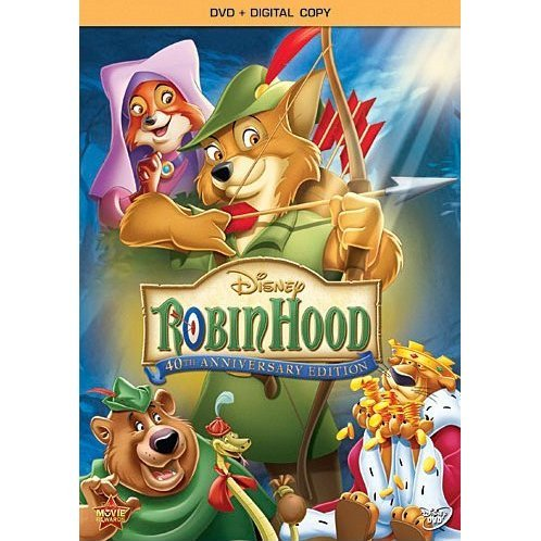 Robin Hood: 40th Anniversary Edition [DVD+Digital Copy]