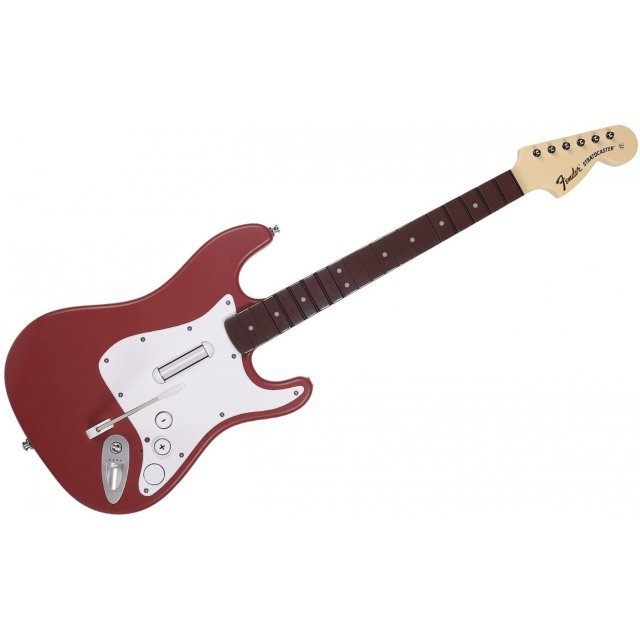 Rock Band 3 Wireless Fender Stratocaster (Cherry)