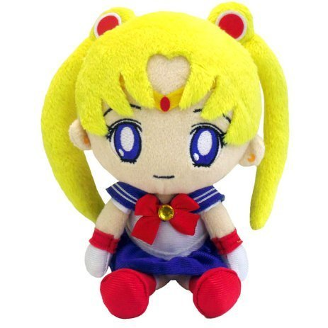 Sailor Moon Mini Plush Doll: Moon (Re-run)