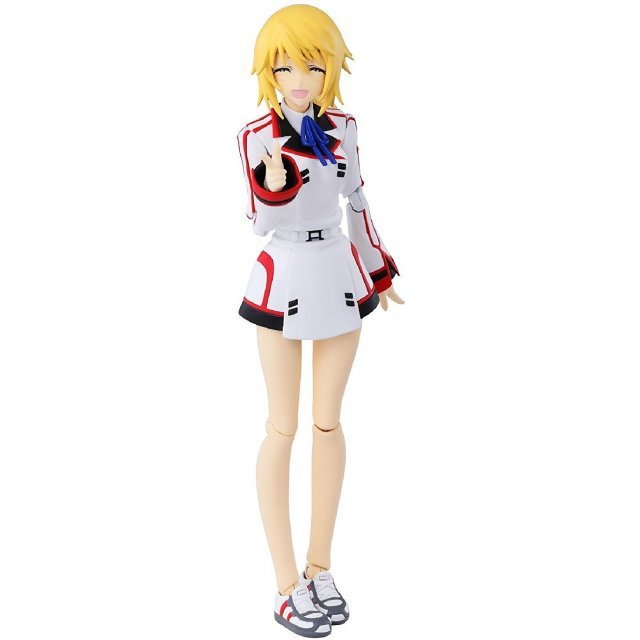Armor Girls Project Infinite Stratos PVC Figure: Charlotte Dunois School Uniform Ver.