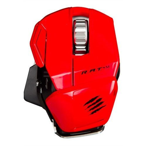 Mad Catz Cyborg R.A.T.M Wireless Gaming Mouse (Gloss Red)