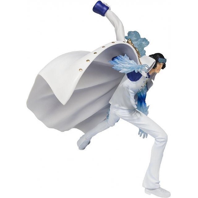Figuarts Zero One Piece Non Scale Pre-Painted PVC Figure: Aokiji Kuzan Battle Ver.